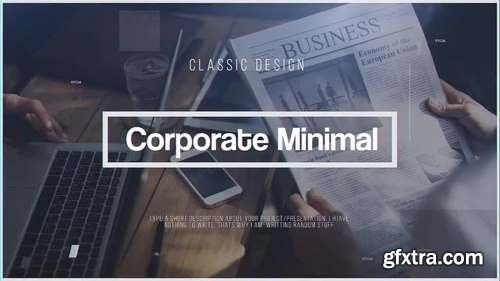 MA -  Corporate Minimal After Effects Templates 59854