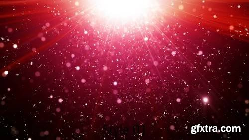 MA - Glittering Red Stock Motion Graphics 149681