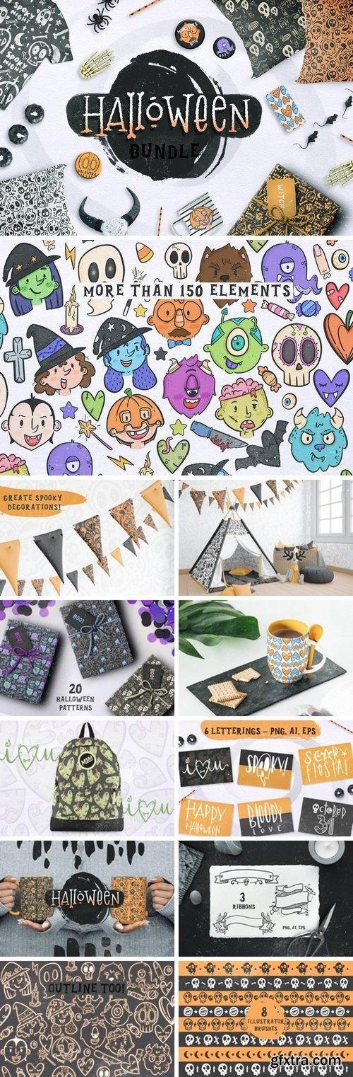 CM - Halloween BUNDLE + 150 ELEMENTS! 2958780