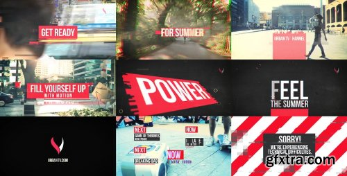 Videohive Urban TV Broadcast Package 16128395