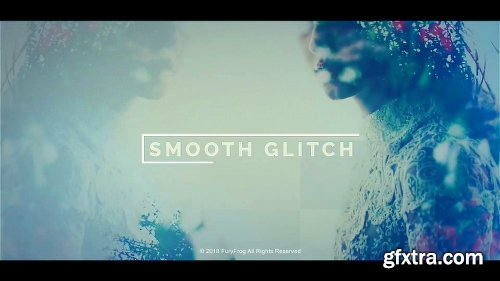 Videohive Smooth Glitch Slideshow 21256335