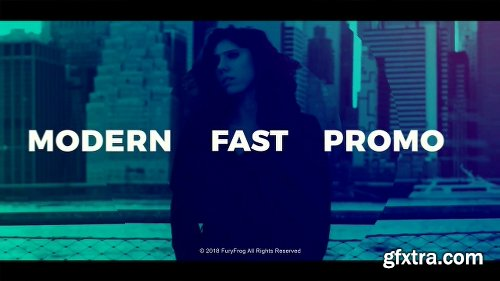 Videohive Modern Fast Typography 21639977