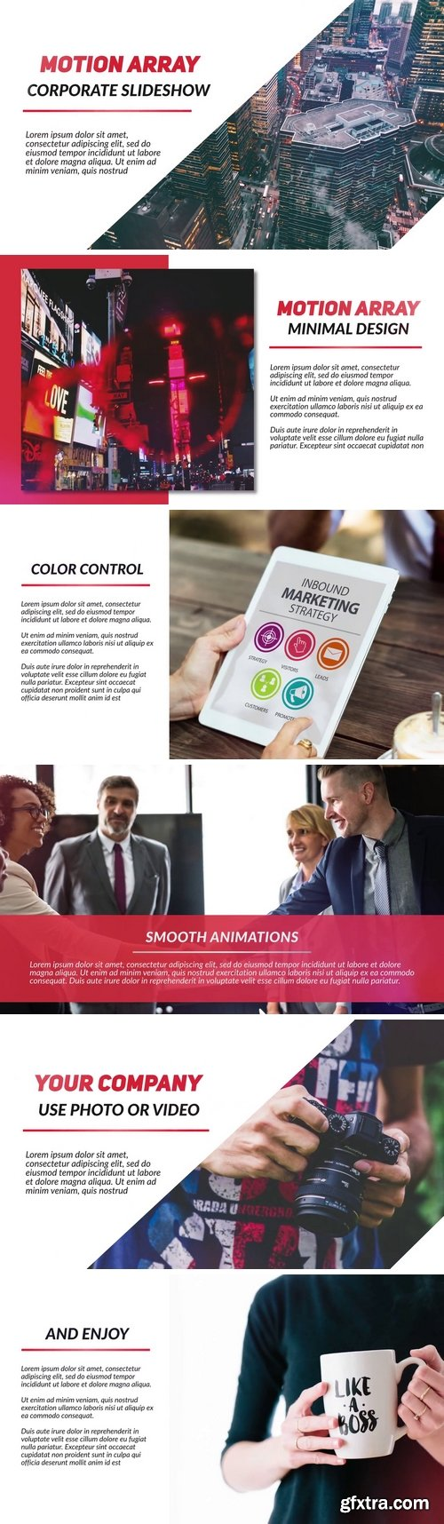 MA - Corporate Slideshow After Effects Templates 149955
