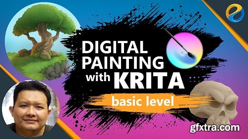 Digital Painting With Krita : Basic Level