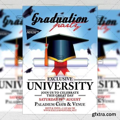 Graduation Flyer - Seasonal A5 Template
