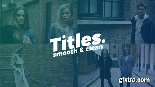 Videohive - Smooth Clean Titles - 20891086