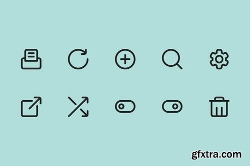 User Interface Vector Set (90 icons)
