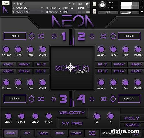 Ecliptiq Audio Neon KONTAKT