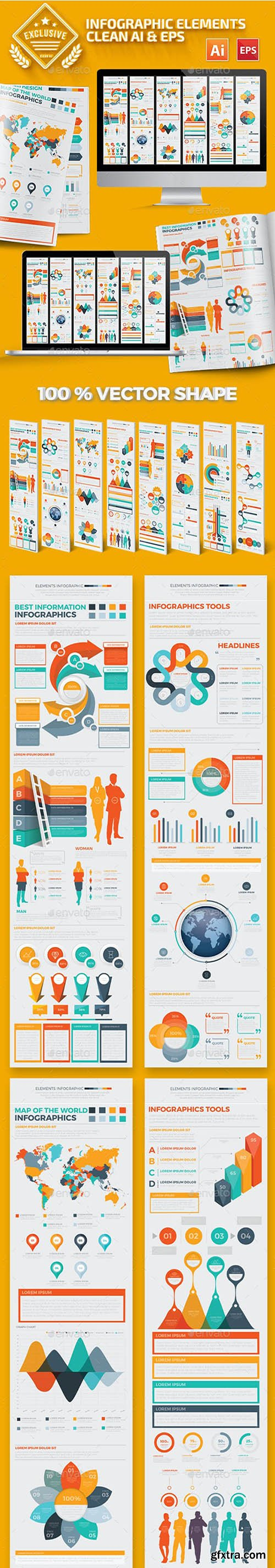 Big Elements Infographics Design 17158886