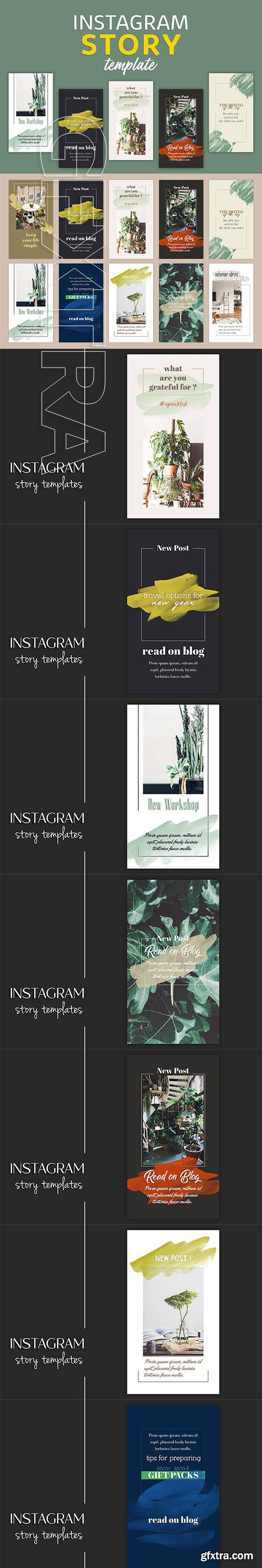 CreativeMarket - Instagram Story Templates 3266977