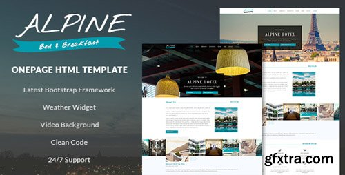 ThemeForest - Alpine v1.0 - Bed and Breakfast One Page Template - 19892441