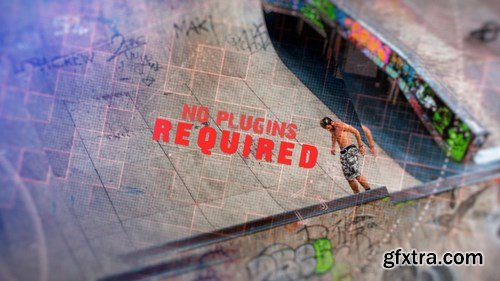MA - Glass Slideshow After Effects Templates 150186