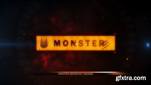 Videohive Monster Broadcast Package 16029360