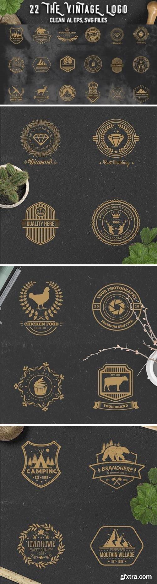 22 Vintage Logos