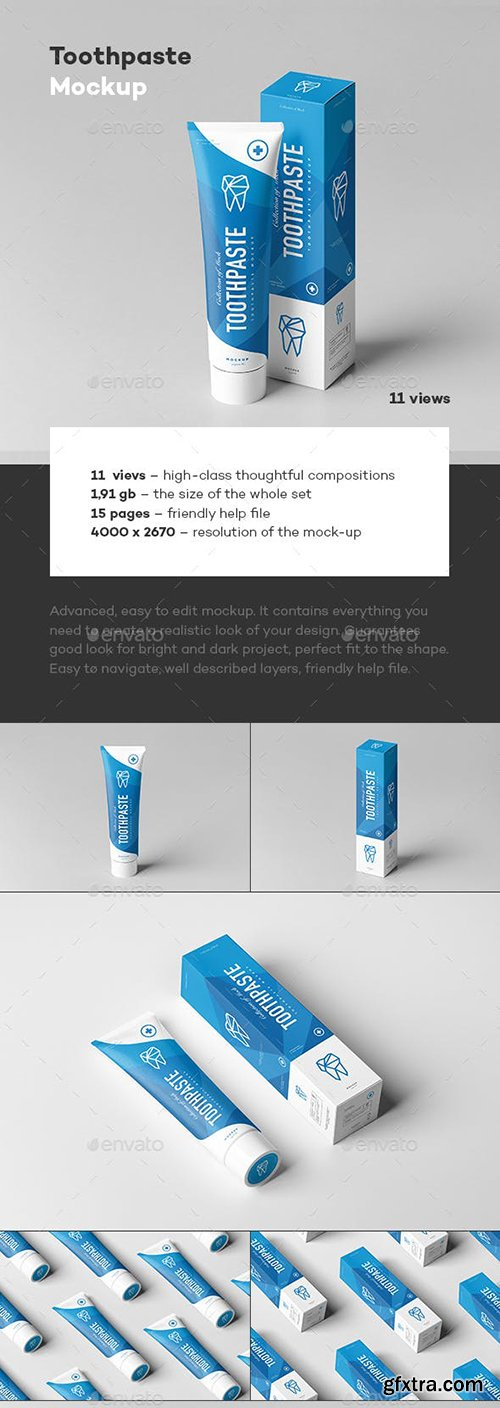 Graphicriver - Toothpaste Mock-up 22969957