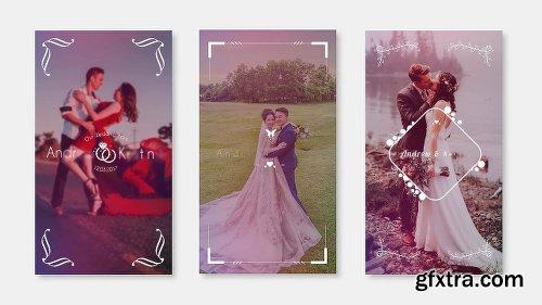 Videohive Wedding Instagram Stories 22991559