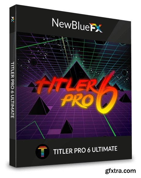 NewBlueFX Plugins Collection for Adobe (12.2018) Win
