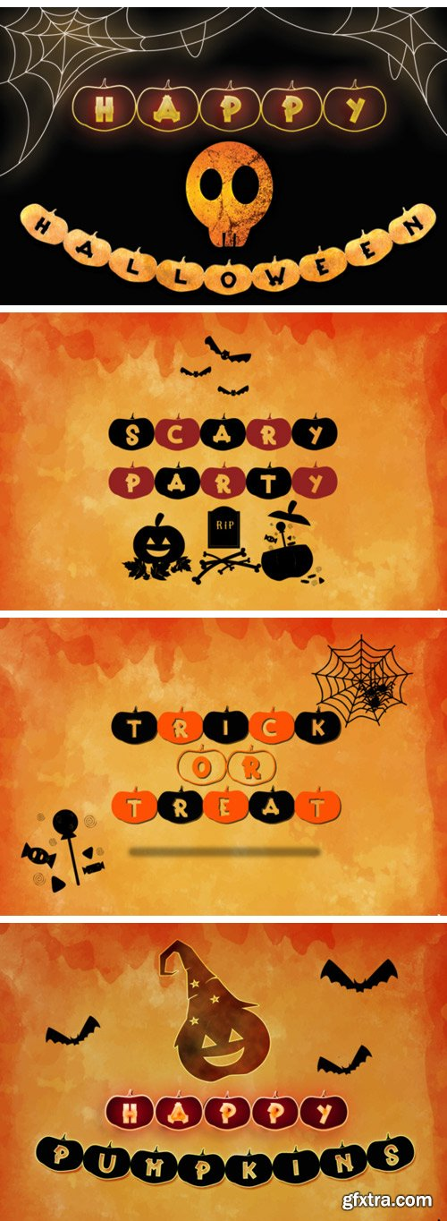 Happy Pumpkins Font