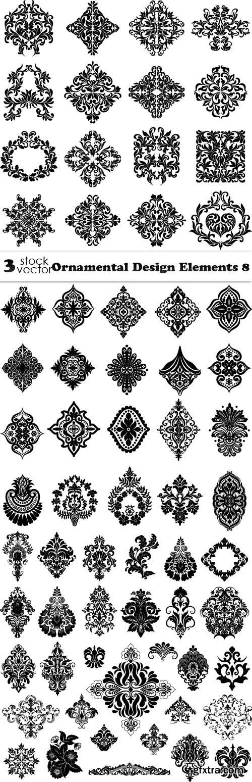 Vectors - Ornamental Design Elements 8