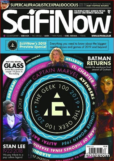SciFiNow – January 2019