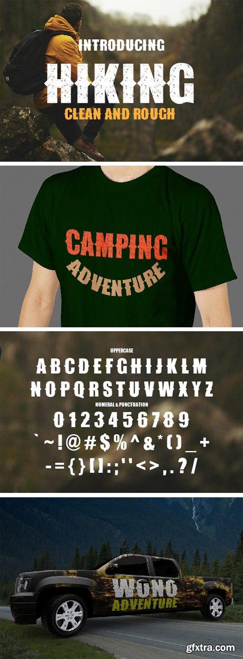Hiking Font