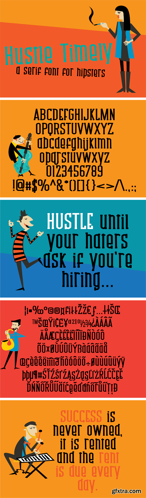 Fontbundles - ZP Hustle Timely 180437