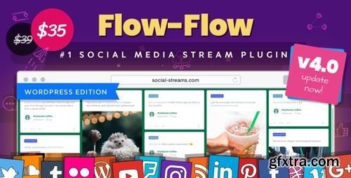 CodeCanyon - Flow-Flow v4.1.3 - WordPress Social Stream Plugin - 9319434