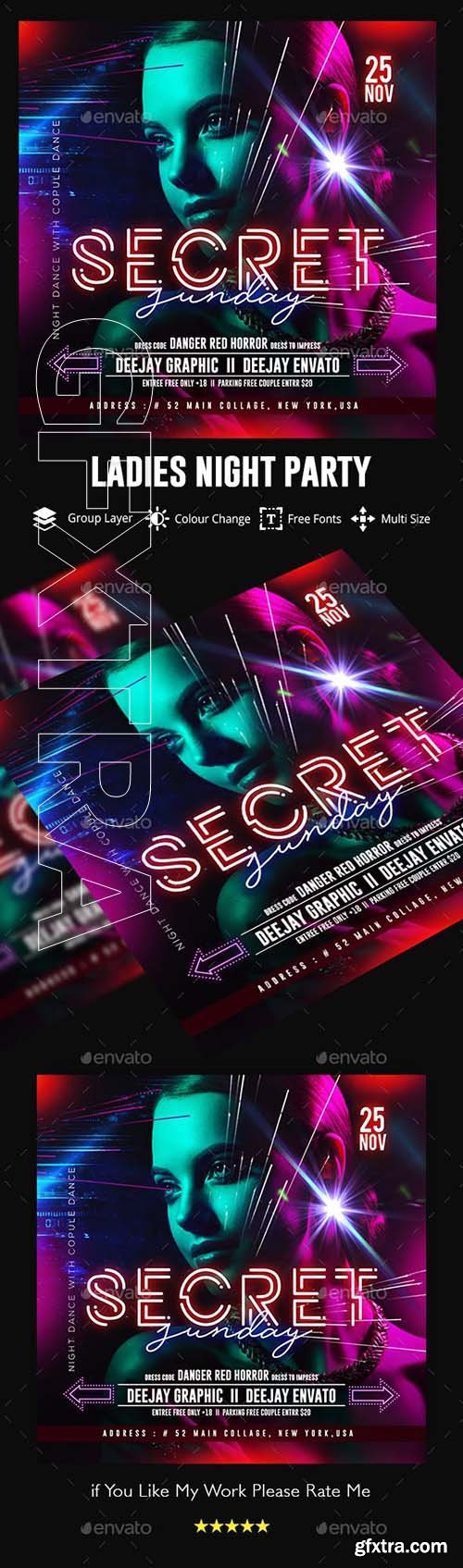 GraphicRiver - Nights Flyer Template 22881023