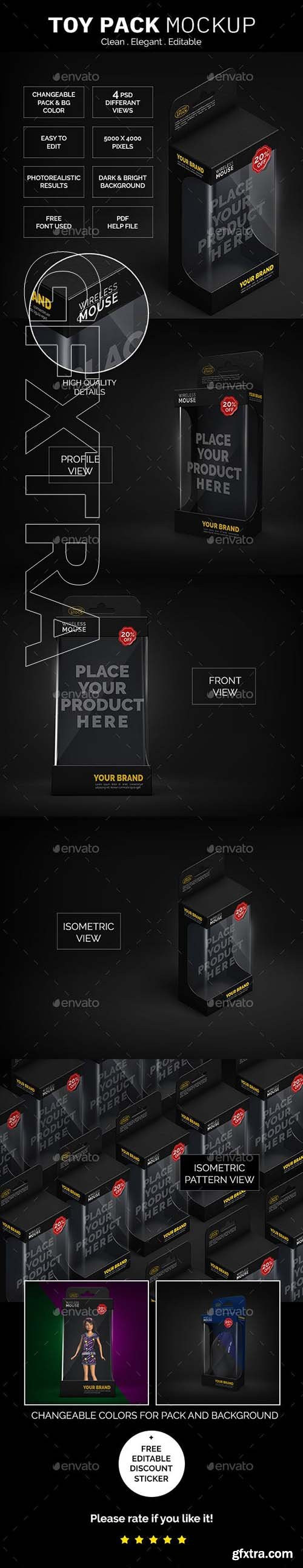 GraphicRiver - Toy Pack Mockup 22882245