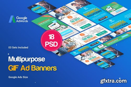 Animated GIF Multipurpose Banners Ad - 3QLUE2