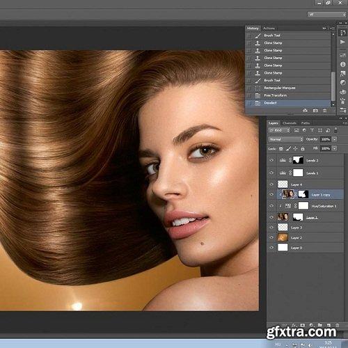 Karl Taylor Phorography - Hair Advert Retouch