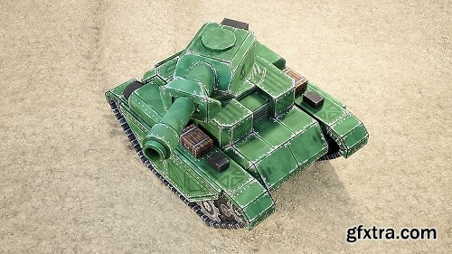 CGCookie - Creating Mini Tanks for a Mobile Game