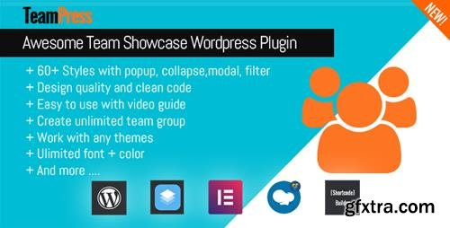 CodeCanyon - TeamPress v1.2 - Team Showcase plugin - 22952433