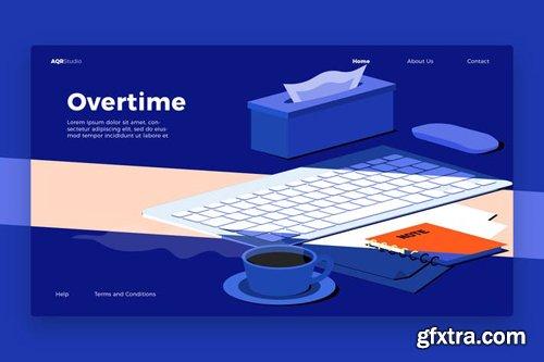 Work Desk - Banner & Landing Page