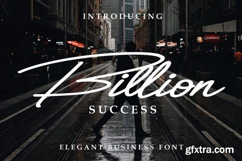 Billion Success Font