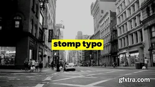 Videohive - Stomp Typo Opener - 22732061