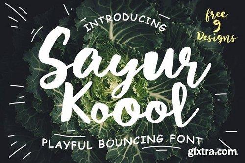 Sayur Koool and Bonus
