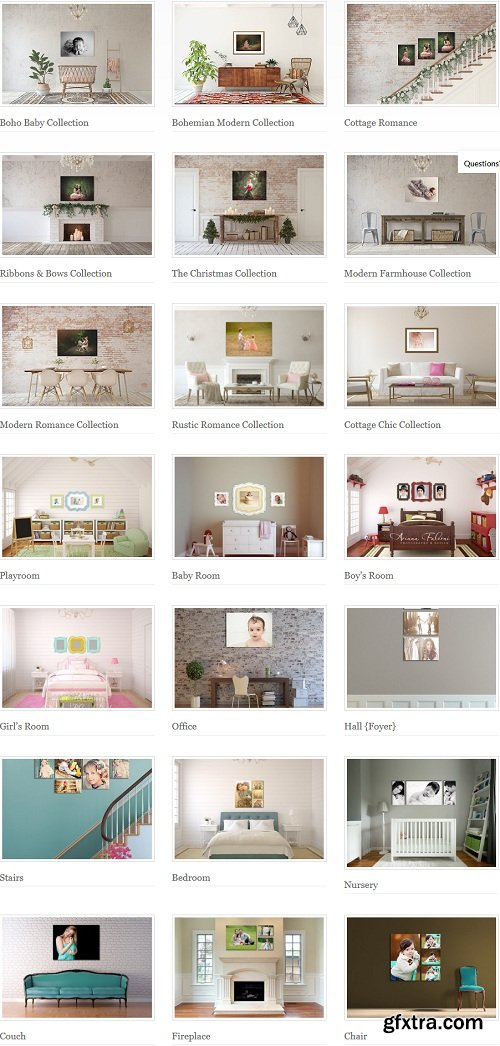 Ariana Falerni Wall Displays