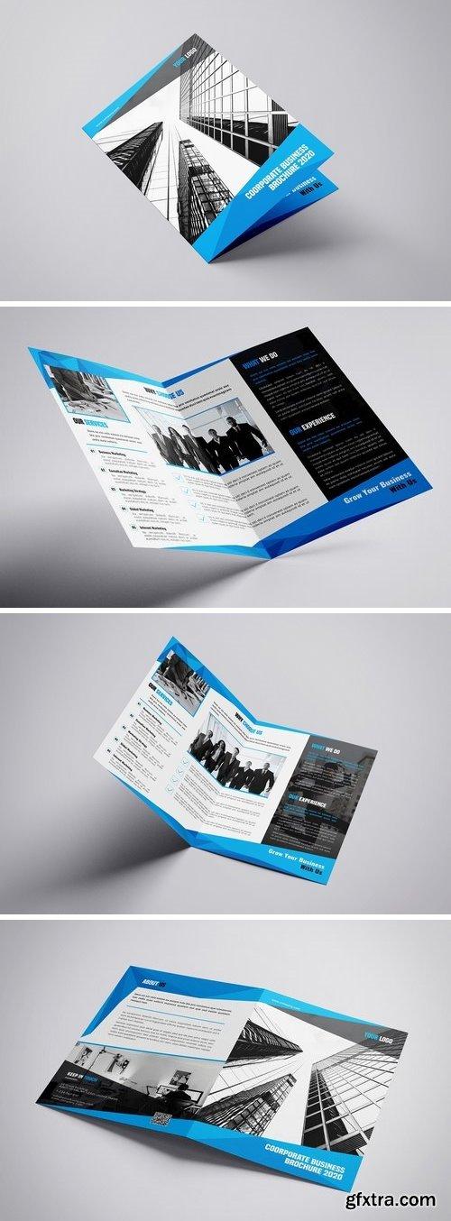 CM - Byfold - A4 Company Bifold Brochure Template 3275795