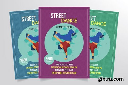 CM - Street Dance Competition Flyer 3275778
