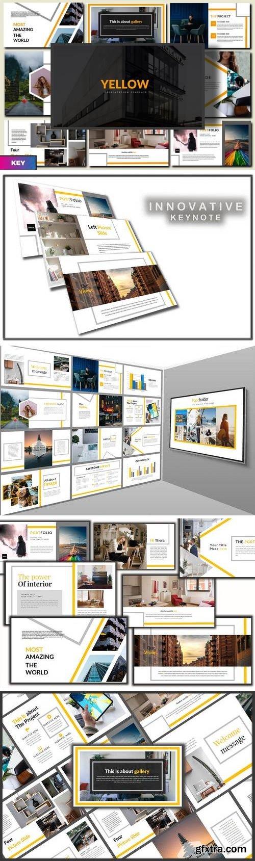 Yellow - Innovative Keynote Template