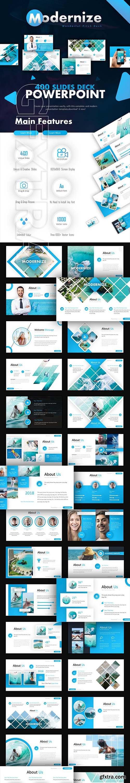GraphicRiver - Modernize Pitch Deck Powerpoint 22876497