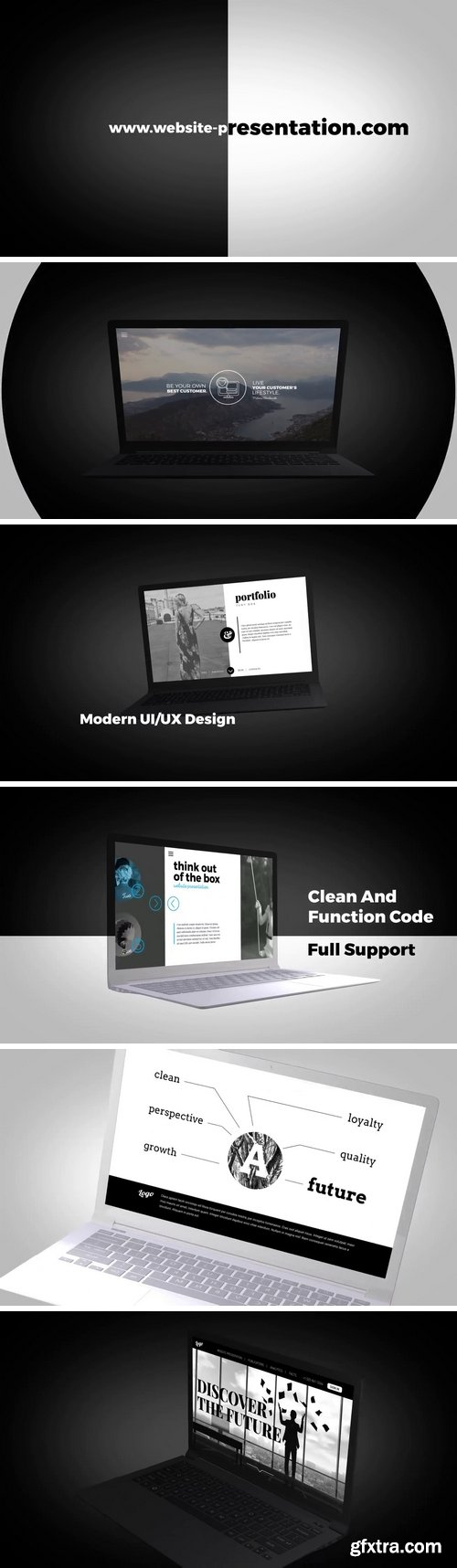 MA - Dynamic Website Presentation After Effects Templates 67077