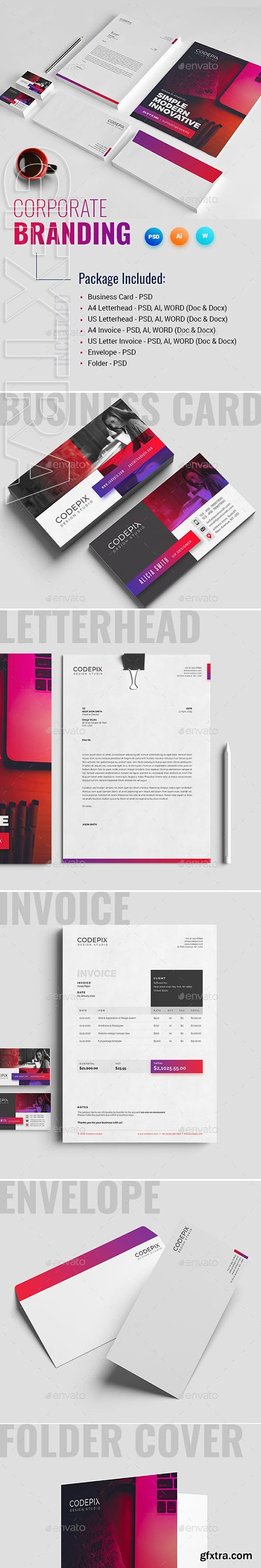 GraphicRiver - Corporate Identity 22891567