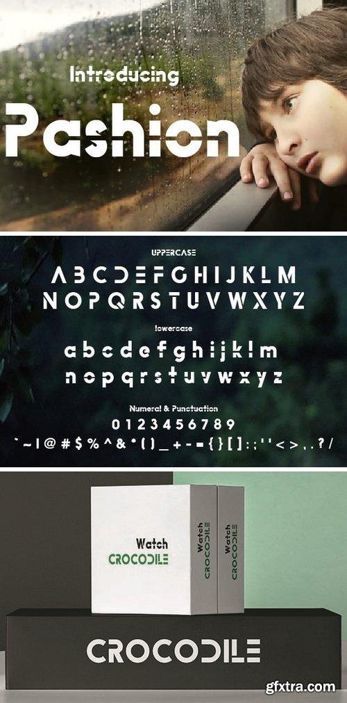 Pashion Font