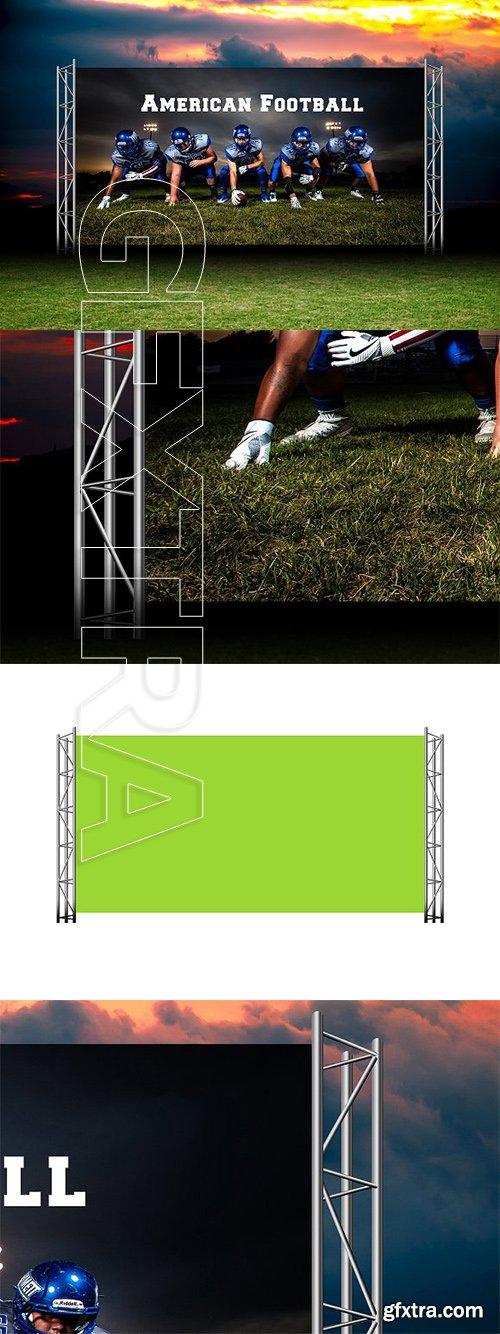 CreativeMarket - Stage Backdrop Mock-up 3233740
