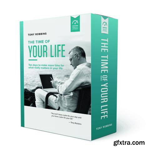 The Time of Your Life - 10 Days to Change Your Life - More Time For What Really Matters To You (Audiobook)