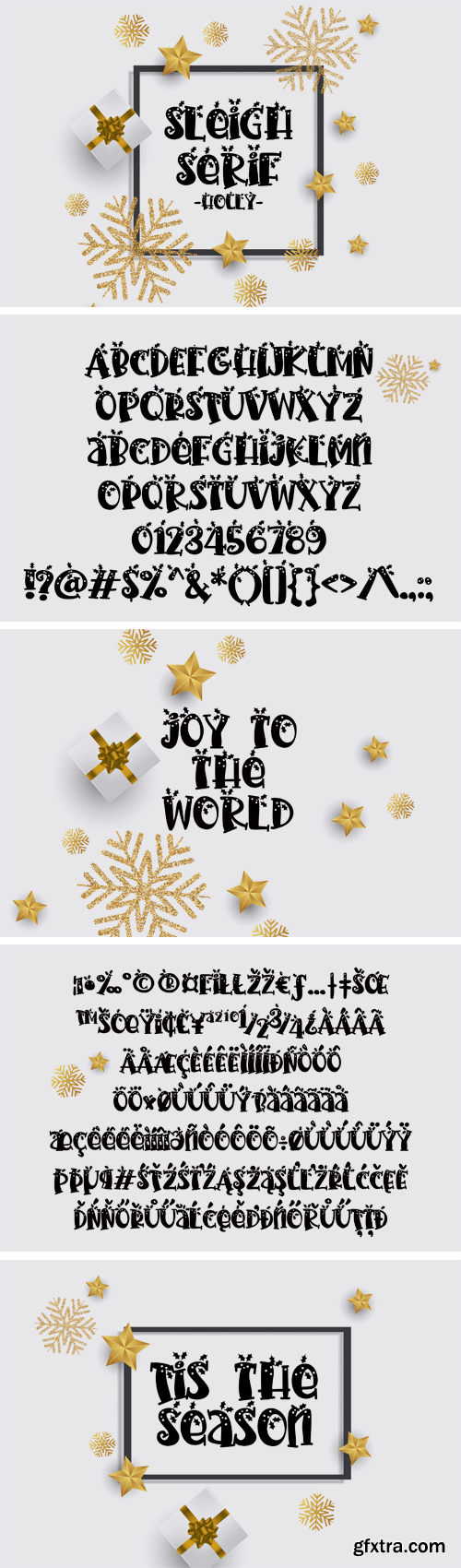 Fontbundles - PN Sleigh Serif Holly 181041