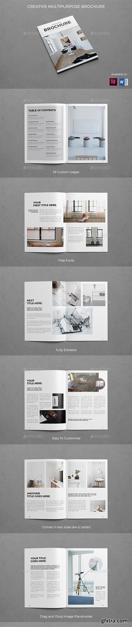 Creative Multipurpose Brochure 19626802