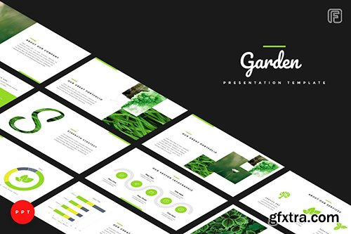 Garden Creative Powerpoint, Keynote and Google Sliders Templates